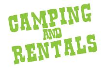 Camping & Rentals